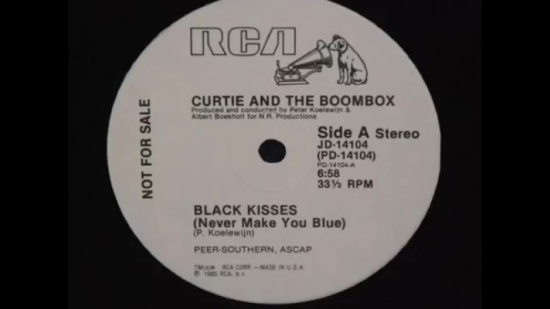 Curtie And The Boombox - Black Kisses (Never Make You Blue) (Extended Version Extended Edit.) Video Edit.