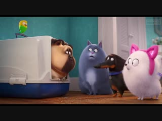 Gidget Learns How To Be A Cat - THE SECRET LIFE OF PETS 2 Trailer (2019)