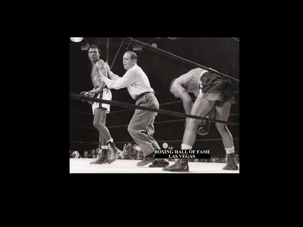Sugar Ray Robinson KOs Randy Turpin September 12 1951 and Regains Crown