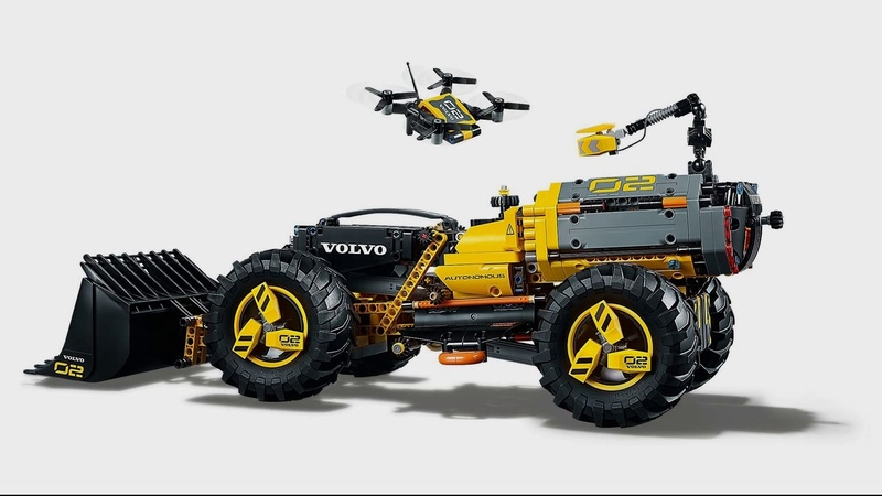 LEGO Summer 2018 Volvo Concept Wheel Loader ZEUX 42081