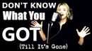 Don't Know What You Got (Till It's Gone) - Cinderella - Alyona Yarushina - Ken Tamplin Vocal Academy