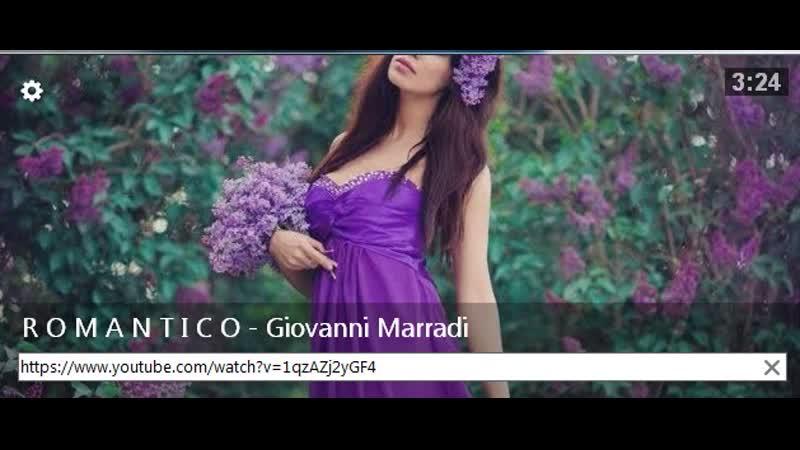 R O M A N T I C O - Giovanni Marradi