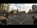 Бешеный велосипедист переиграл в компьютерные игры