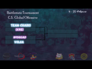 Battlestate Tournament CS:GO Team Chains vs IXREI 1\2