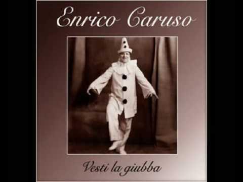 VESTI LA GIUBA - Pagliacci - ENRIQUE CARUSO 1907