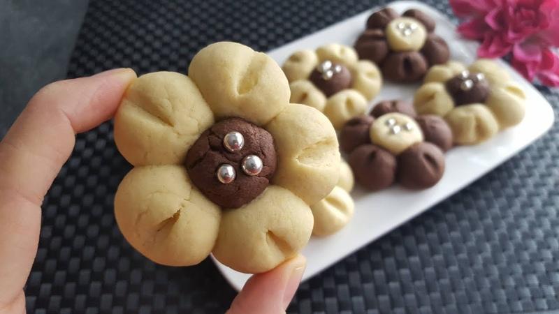 Печенье Цветочки CICEK Kurabiye Tarifi ♥ P S Cennet Mutfağımız