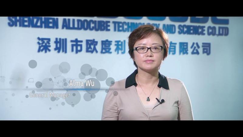 Видео о компании Alldocube