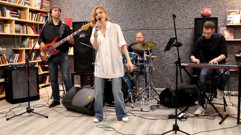 Кавер группа Вернисаж Промо Французская программа Live sound
