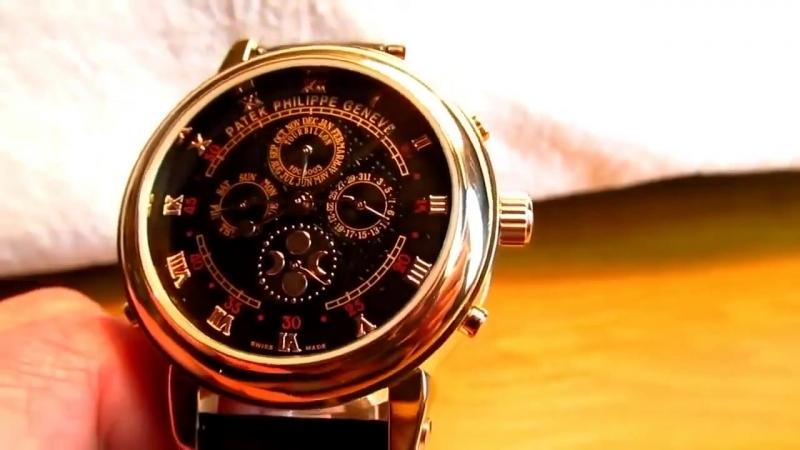 Элитные наручные часы Patek Philippe Sky Moon Tourbillon