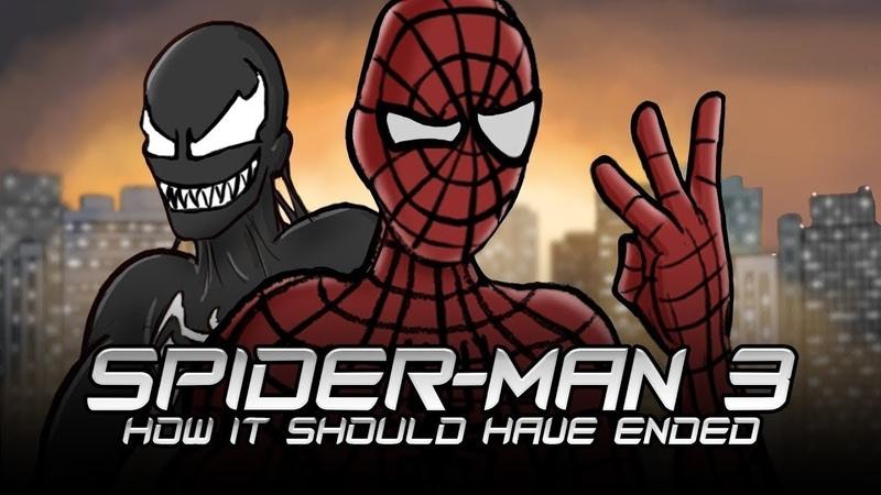 Как Следовало Закончить Фильм Человек-паук 3: Враг в отражении