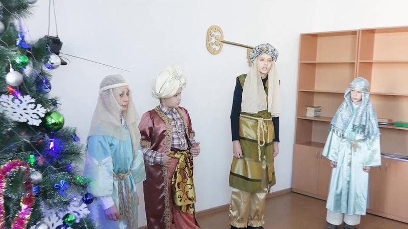 Выступление Воскресной школы в ПНИ г.Арсеньев