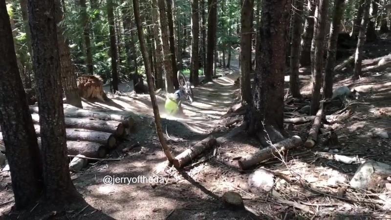Loose Riders Germany Downhill Freeride crash
