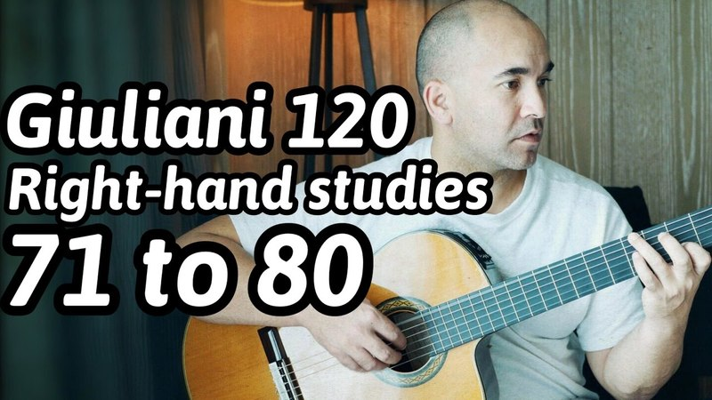 120 Guitar Arpeggios | 71 to 80 | Mauro Giuliani | Classical Guitar Lesson | NBN Guitar