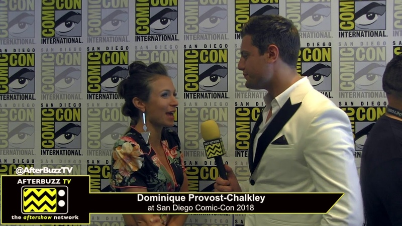 Dominique Provost Chalkley (Wynona Earp) | San Diego Comic-Con 2018
