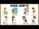 Daily Activities For Kids Good Habits And Manners For Kids Preschool Learning For Kids