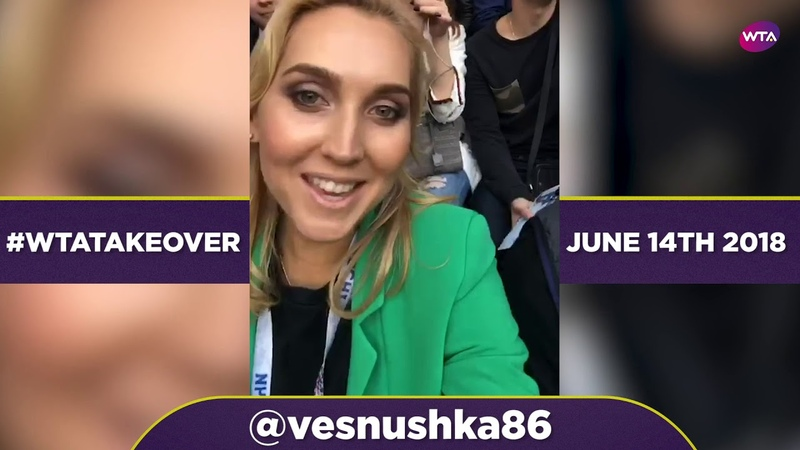Elena Vesnina's WTA Instagram takeover at the World Cup
