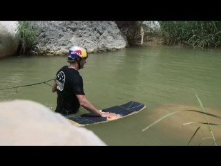Wakeskating A Volcanic Valley In The Jordanian Desert With Brian Grubb