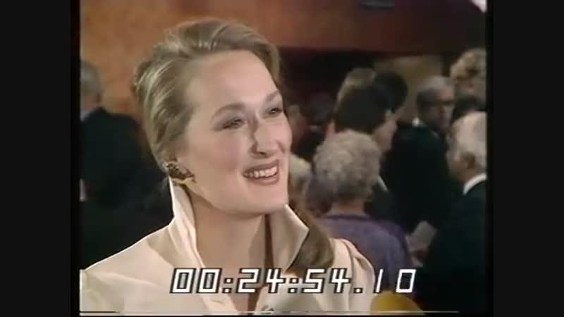 Meryl Streep in Kramer vs Kramer London Film Premier 1980