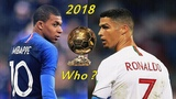 Cristiano Ronaldo vs Kylian Mbappe ● Golden Rivalry | The Ballon D'Or Battle 2018 | HD