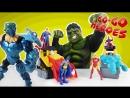 Go Go Heroes  •  ХАЛК и другие супергерои против Super Hero Mashers!