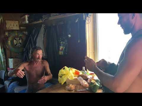 В гостях у Робинзона | Остров Ейская коса