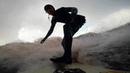 Экстремалы изПетербурга ловят волну наЛадожском озере