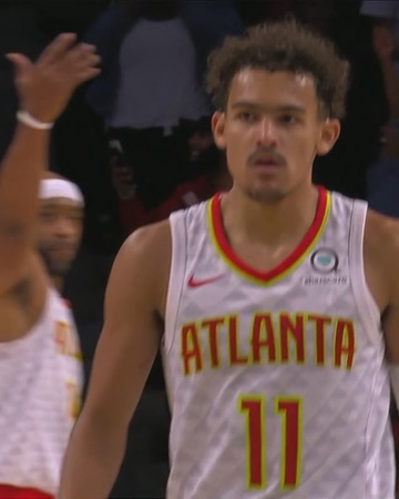 "NBA on Instagram ""True to Atlanta... @traeyoung's BEST of the NBAPreseason!"""