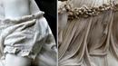 Одежда из мрамора как настоящая! Как древние это делали