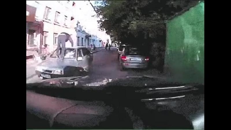 Когда не пропустил пешехода