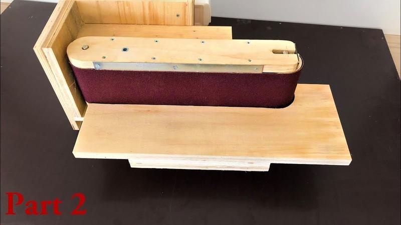 3 in 1 Sanding Station Build Part2 (Belt Sander, Disc Sander, Edge Sander)