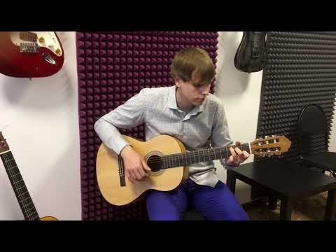 Дмитрий Давиденко ученик школы игры на гитаре Just Play