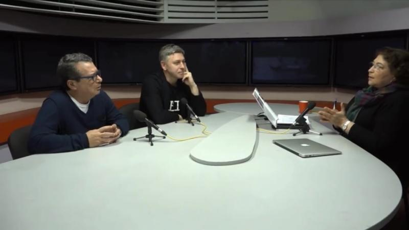 Программа радиостанции «Эхо Москвы» - «Полный Альбац» - Гости: Цви Критцер и Мариус Ивашкявичус [22.1.2018]