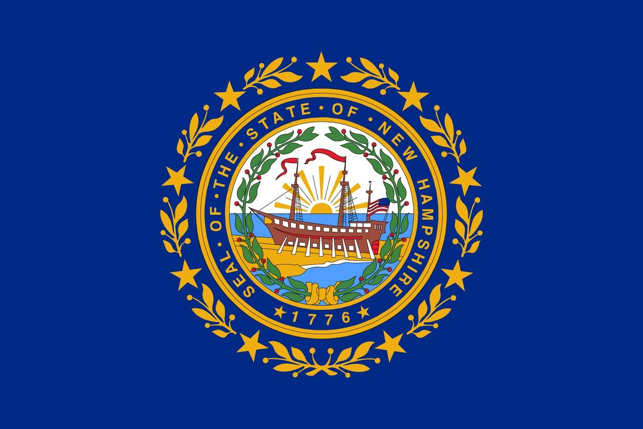 Флаг Нью-Гэмпшир