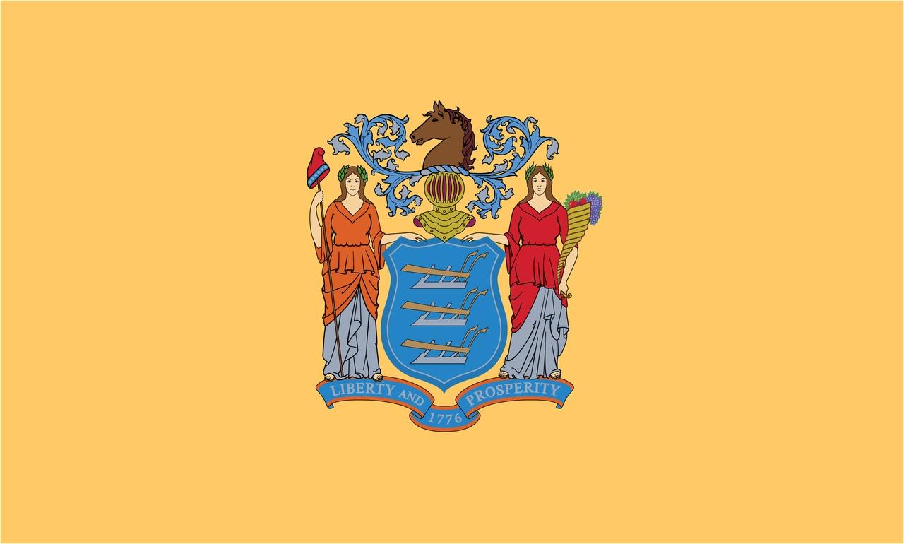 Флаг Нью-Джерси