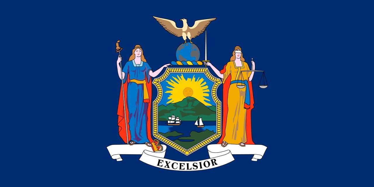 Флаг Нью-Йорк