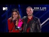 Anitta vence Hit Do Ano Downtown com J Balvin | MTV Miaw México 2018 - Hit del Año