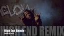 Sasha Go Hard - High End Remix Music Video