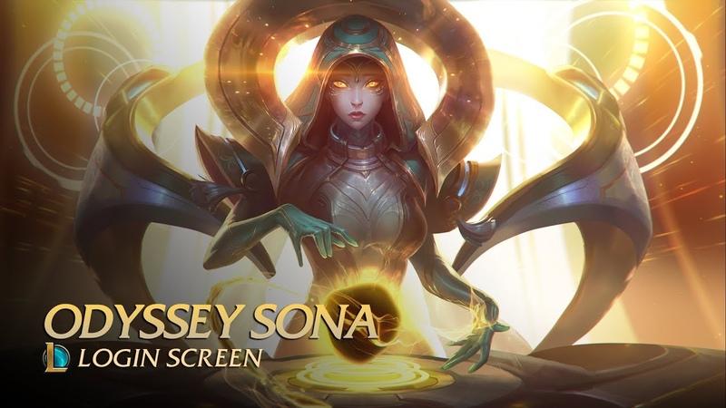 Odyssey Sona - Login Screen [fanmade] 4K