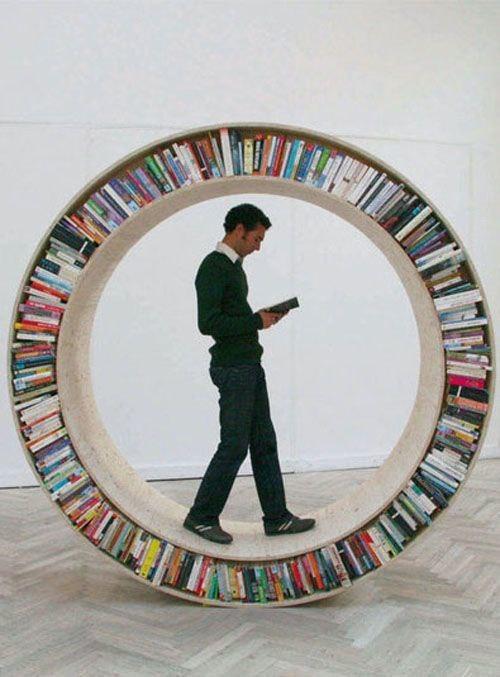 Книжные полки.