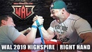 WAL 2019 HIGHSPIRE RIGHT HAND | ARM WRESTLING