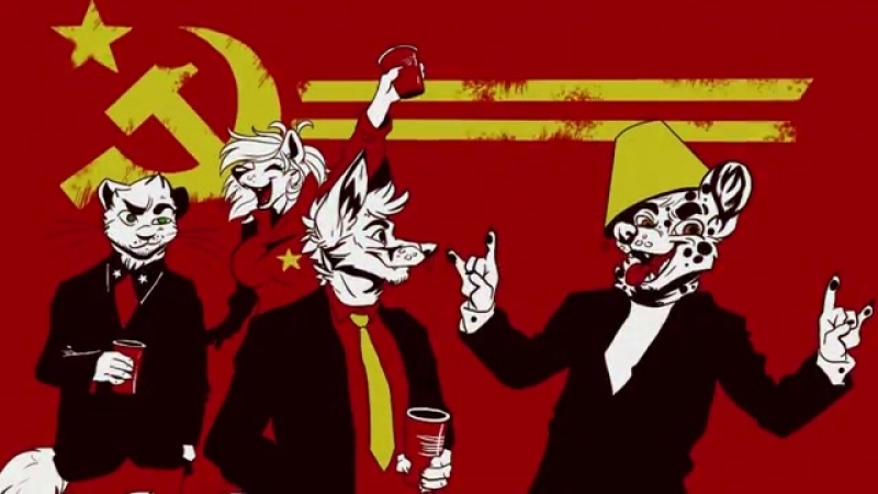 ☭Furry song - Советский марш [VDownloader]