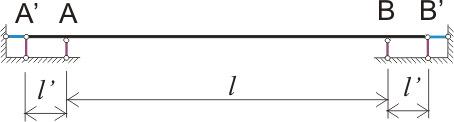 Виды опор, какую расчетную схему выбрать
