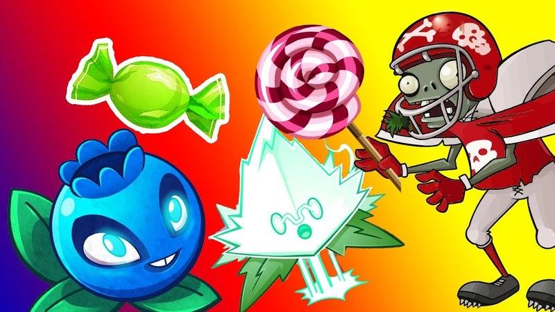 Растения против зомби 2 НОВОЕ РАСТЕНИЕ ЭЛЕКТРОМЯТА и ЧЕРНИКА Plants Vs Zombies