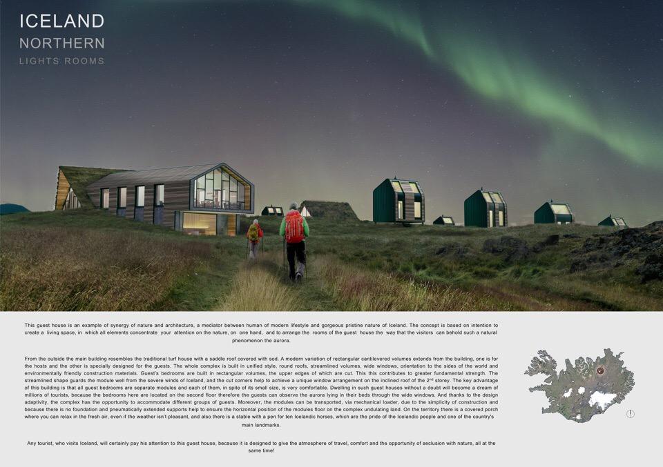 Iceland nortern lights rooms