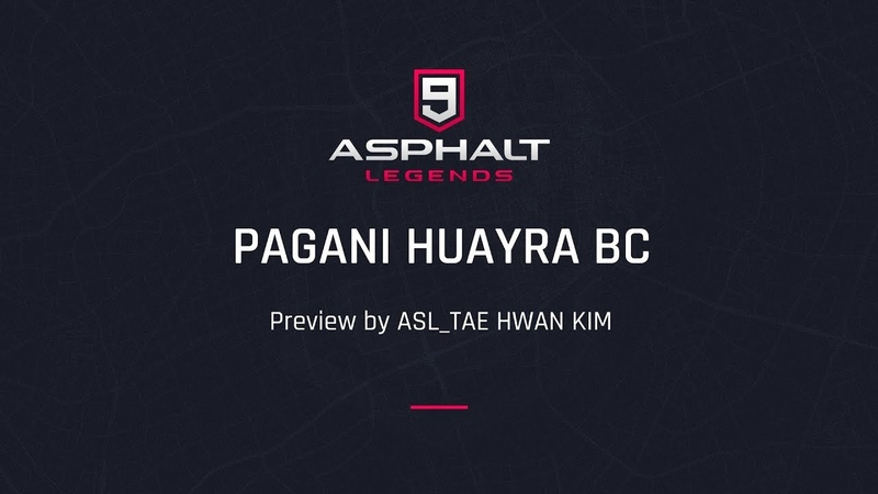 Asphalt 9:Legends - Pagani Huayra BC preview