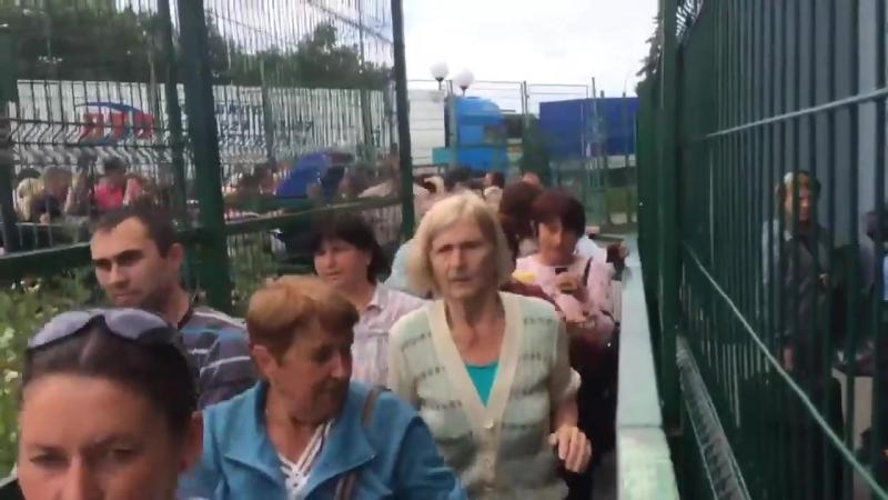 Ukraińcy szturmują polskie przejście graniczne po zniesieniu wiz