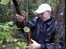 Артём на охоте