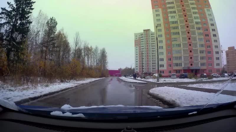 Дороги Урала Первый снег На летней резине до г Очер