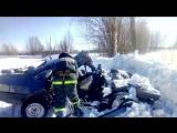 Обзор аварий. Погибла женщина водитель 99-ой Слободской район. 23.03.2018