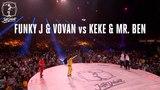Locking battle Funky J &amp Vovan vs Keke &amp Mr. Ben